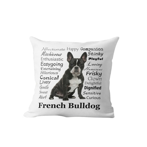 Why I Love My French Bulldog Cushion Cover