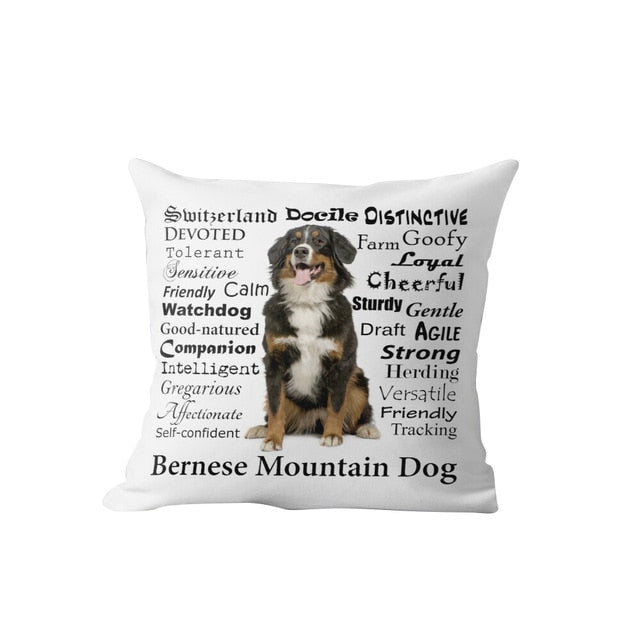 Why I Love My Bernese Mountain Dog Cushion Cover