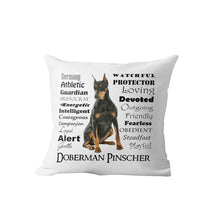 Load image into Gallery viewer, Why I Love My Vizsla Cushion Cover