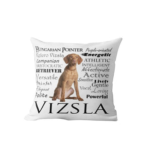 Why I Love My Vizsla Cushion Cover