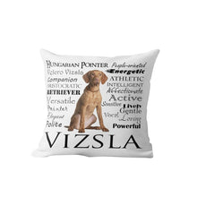 Load image into Gallery viewer, Why I Love My Weimaraner Cushion Cover