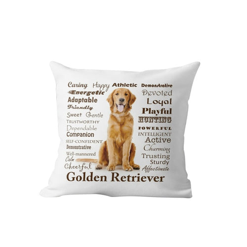 Why I Love My Golden Retriever Cushion Cover