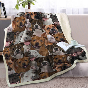 Some of the Jack Russell Terriers I Love Warm Blanket - Series 1
