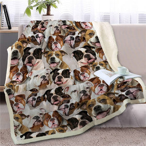 Some of the Yorkshire Terriers I Love Warm Blanket - Series 1
