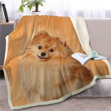 Load image into Gallery viewer, Shih Tzu Love Soft Warm Fleece Blanket - Series 3