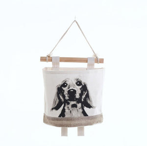 Border Collie Love Multipurpose Door or Wall Hanging Storage Pouch