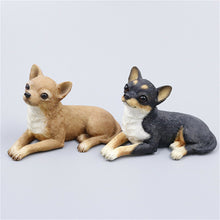 Load image into Gallery viewer, Sitting Chihuahuas Resin Figurines