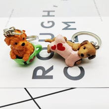 Load image into Gallery viewer, Cutest Resin Figurine Shiba Inu Keychain