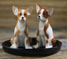 Load image into Gallery viewer, Beautiful Bull Terrier Love Salt and Pepper Shakers - Series 1