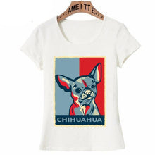 Load image into Gallery viewer, Pop Art Chihuahua Womens T Shirt