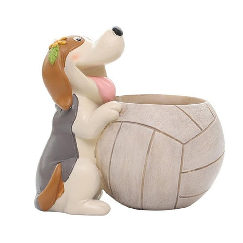 Sports Beagle Succulent Plants Flower Pot
