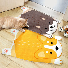 Load image into Gallery viewer, Belly Flop Corgi and Shiba Inu Love Doormats