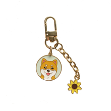 Load image into Gallery viewer, Cutest Metal Keychain for Maltese Lovers
