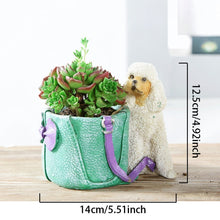 Load image into Gallery viewer, Cutest Yorkshire Terrier Love Succulent Flower Pot - Series 2