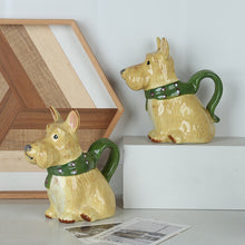 Load image into Gallery viewer, Scottish Terrier Love Ceramic Creamer