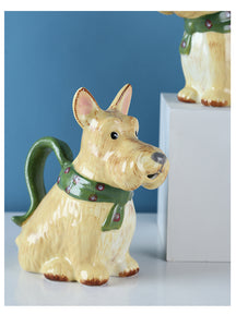 Scottish Terrier Love Ceramic Creamer