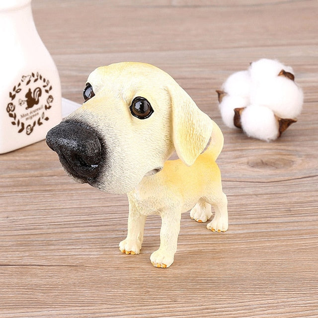 Labrador Love Car Bobble Head