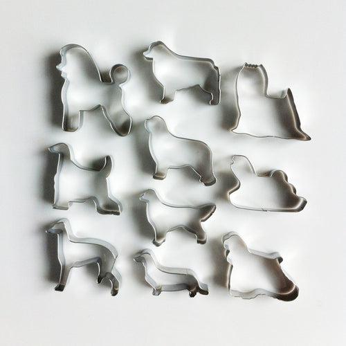 Doggo Love Cookie Cutters - 10 pcs