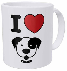 I Love My American Pit Bull Terrier Coffee Mug