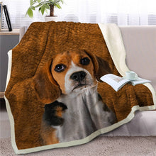 Load image into Gallery viewer, Corgi Love Soft Warm Fleece Blanket - Series 5