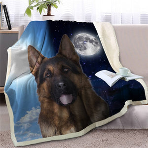 My Sun, My Moon, My Australian Shepherd Love Warm Blanket - Series 2