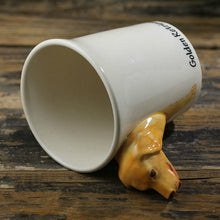 Load image into Gallery viewer, Yellow Labrador Love 3D Ceramic Cup