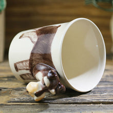 Load image into Gallery viewer, Schnauzer Love 3D Ceramic Cup