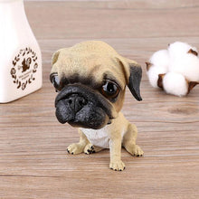 Load image into Gallery viewer, Pug Love Car Bobble HeadCarPug
