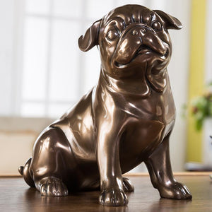 Pug Love Home Decor Resin StatueHome Decor