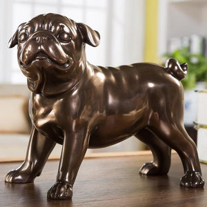 Pug Love Home Decor Resin StatueHome DecorStanding