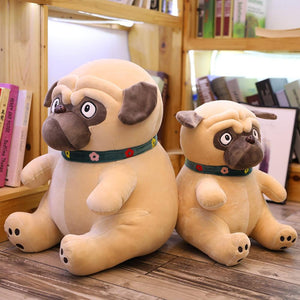 Pug Love Huggable Stuffed Animal Plush Toys (Small to Giant size)Soft Toy