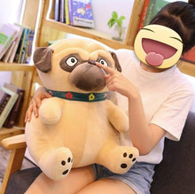 Load image into Gallery viewer, Pug Love Huggable Stuffed Animal Plush Toys (Small to Giant size)Soft Toy