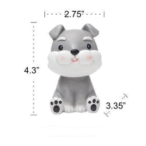 Pug Love Resin Glasses Holder FigurineHome DecorMini Schnauzer