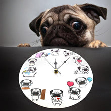 Load image into Gallery viewer, Pug O Clock Wall ClockHome Decor