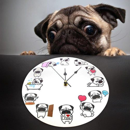 Pug O Clock Wall ClockHome Decor