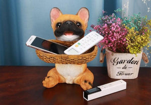 Puppy Love Tabletop Organiser & Piggy Bank StatuesHome DecorFrench Bulldog