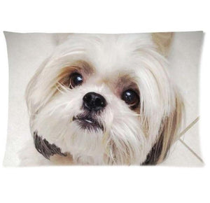 Queen Size Rectangular Large Cushion Covers for Dog Lovers - Series 1Cushion CoverMalteseOne Size