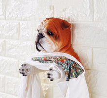 Load image into Gallery viewer, Red / Fawn English Bulldog Love Toilet Roll HolderHome Decor