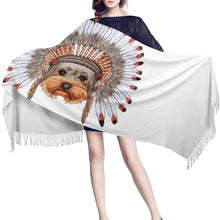 Load image into Gallery viewer, Red Indian Shih Tzu Warm Winter ShawlAccessories