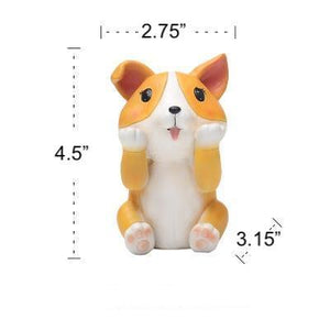 Boston Terrier Love Resin Glasses HolderHome DecorCorgi