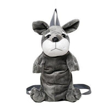 Load image into Gallery viewer, Schnauzer Love Plush BackpackAccessories