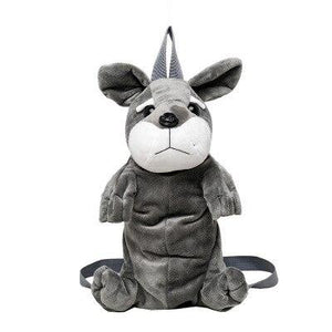 Schnauzer Love Plush BackpackAccessories
