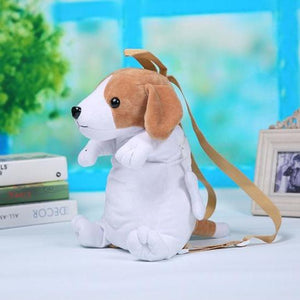 Schnauzer Love Plush BackpackAccessoriesBeagle
