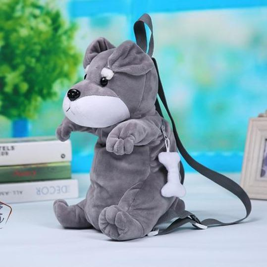 Schnauzer Love Plush BackpackAccessoriesSchnauzer