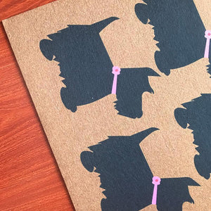 Scotties / Scottish Terrier Love Door MatMat