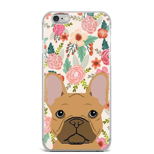 Shiba Inu in Bloom iPhone CaseCell Phone AccessoriesFrench Bulldog - FawnFor 5 5S SE