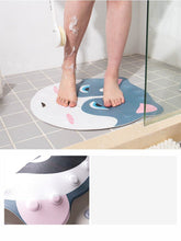 Load image into Gallery viewer, Shiba Inu Love Non-Slip Bathroom Shower MatHome Decor