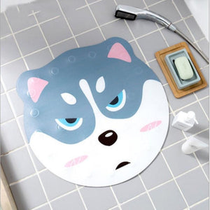 Shiba Inu Love Non-Slip Bathroom Shower MatHome DecorHuskyOne Size