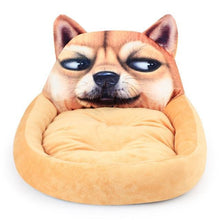 Load image into Gallery viewer, Shiba Inu Themed Pet BedHome DecorShiba InuSmall