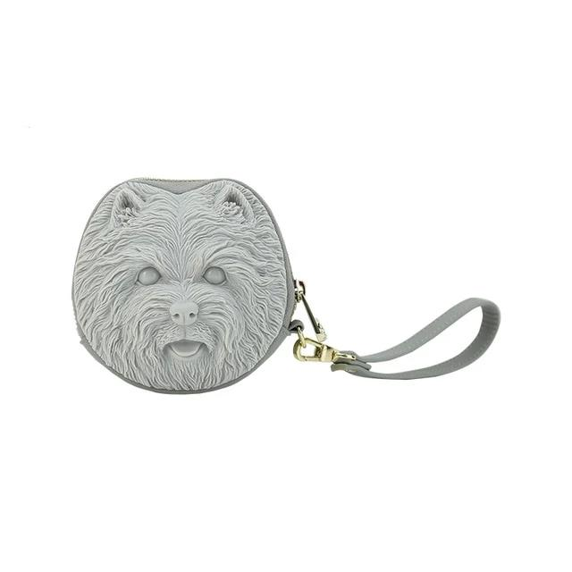 Shih Tzu Love Clutch with StrapBagCool greyOne Size